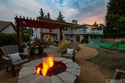 Agoura Hills Single Family Home For Sale: 29445 Fountainwood Street