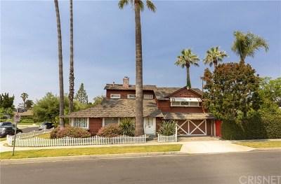 Sherman Oaks Single Family Home For Sale: 13441 Cumpston Street