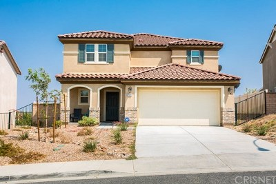 Palmdale Single Family Home For Sale: 37518 Henna Lane
