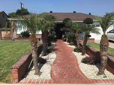 Pico Rivera Single Family Home For Sale: 7223 Farmland Avenue
