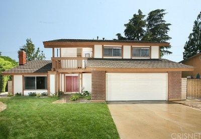West Hills Single Family Home For Sale: 7610 Vicky Avenue