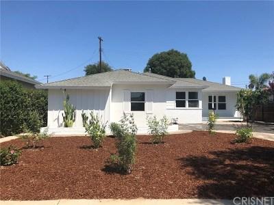 Winnetka Single Family Home For Sale: 7730 Quakertown Avenue