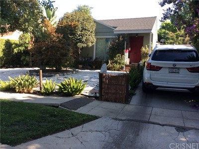 North Hollywood Single Family Home For Sale: 11510 Albers Street
