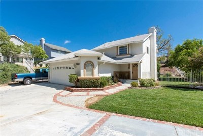 Saugus Single Family Home For Sale: 22745 Boxwood Lane