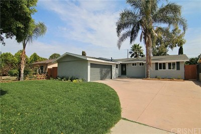 Northridge Single Family Home For Sale: 19122 Napa Street