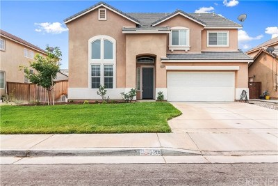 Rosamond Single Family Home For Sale: 3208 Perdot Avenue