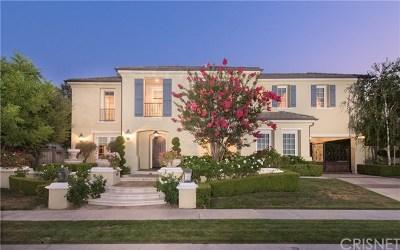 Calabasas Single Family Home For Sale: 25490 Prado De Las Bellotas