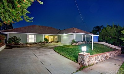 Calabasas Single Family Home For Sale: 22475 Paul Revere Drive