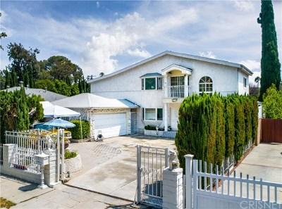 Sherman Oaks Single Family Home For Sale: 4752 Sunnyslope Avenue