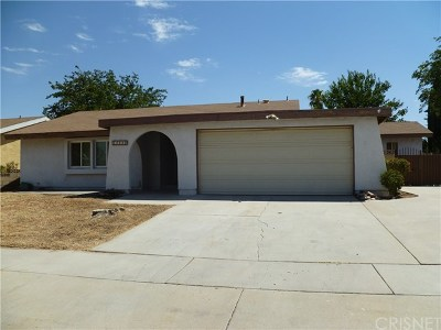 Palmdale Single Family Home For Sale: 37938 28th Street E