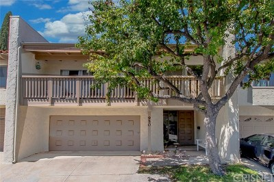Thousand Oaks Condo/Townhouse For Sale: 950 Woodlawn Drive