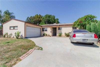 Reseda Single Family Home For Sale: 8107 Hesperia Avenue