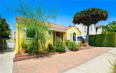 Los Angeles Single Family Home For Sale: 1353 Hauser Boulevard