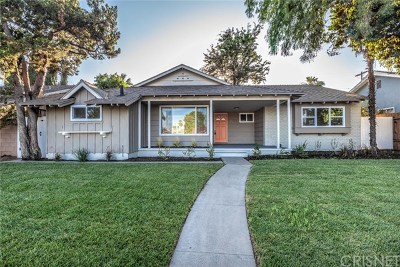 North Hills Single Family Home Active Under Contract: 9327 Woodley Avenue