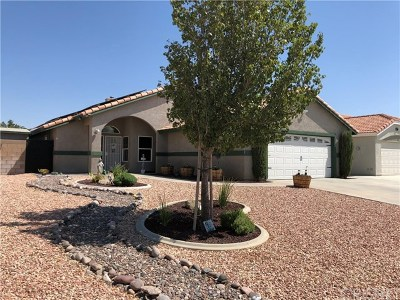 Rosamond Single Family Home For Sale: 3325 Poplar Street