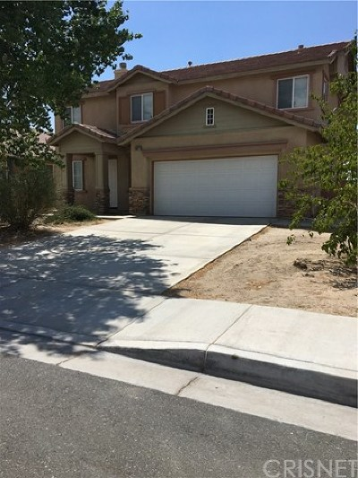 Palmdale Single Family Home For Sale: 38223 Marsala Drive