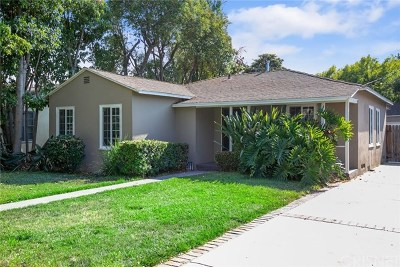Burbank Single Family Home For Sale: 315 N Lomita Street