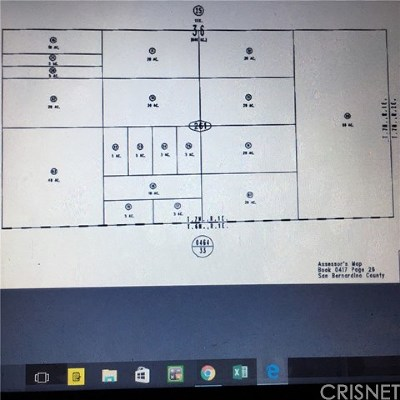 Barstow Residential Lots & Land For Sale: 10acres Auction
