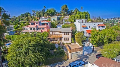Los Angeles Multi Family Home For Sale: 3911 Sunset Dr Avenue