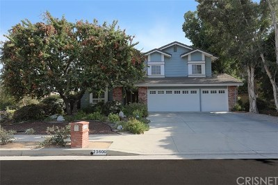 West Hills Single Family Home For Sale: 23600 Blythe Street