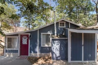 Lake Hughes Single Family Home For Sale: 43695 Trail E
