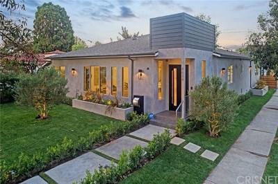 Toluca Lake Single Family Home For Sale: 4634 Cartwright Avenue