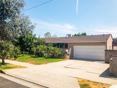 Van Nuys Single Family Home For Sale: 14840 Cohasset Street
