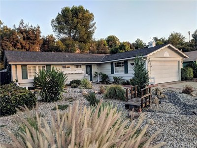Woodland Hills Single Family Home Active Under Contract: 23372 Erwin Street