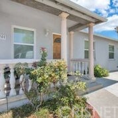 North Hollywood Single Family Home For Sale: 8201 Vantage Avenue