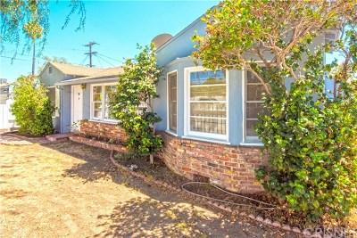 Valley Glen Single Family Home For Sale: 6556 Babcock Avenue