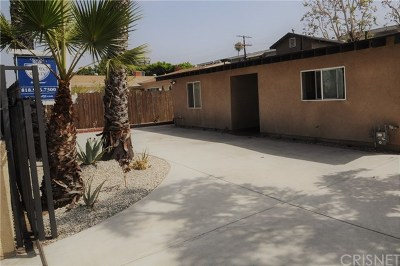 North Hollywood Single Family Home For Sale: 6960 Van Noord Avenue