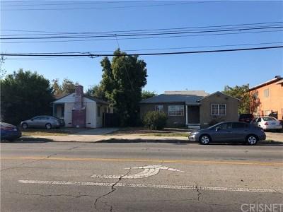 Van Nuys Single Family Home For Sale: 14645 Vanowen Street