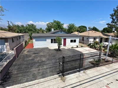 Pacoima Single Family Home For Sale: 10582 Telfair Avenue