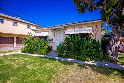 North Hollywood Multi Family Home For Sale: 11345 Hatteras Street
