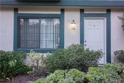 Sylmar Condo/Townhouse Active Under Contract: 15230 Roxford Street #18