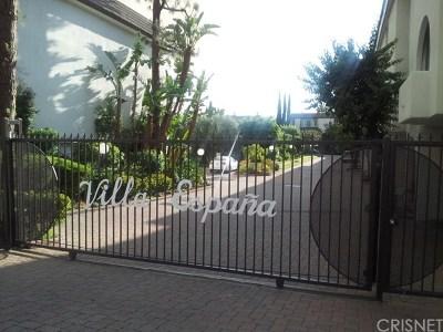 Encino Condo/Townhouse For Sale: 5263 Newcastle Avenue #2