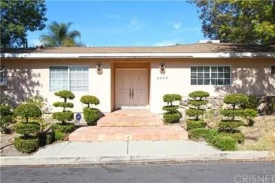 Tarzana Single Family Home Active Under Contract: 5503 Beckford Avenue