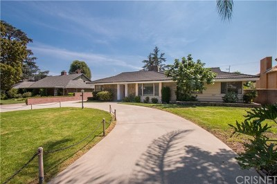 Pasadena Single Family Home For Sale: 2570 Deodar Circle