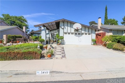 Agoura Hills Single Family Home For Sale: 5449 Softwind Way