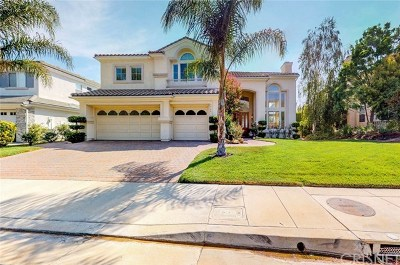 Brentwood, Calabasas, West Hills, Woodland Hills Single Family Home For Sale: 3966 Leighton Point Road