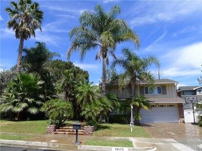 Porter Ranch Single Family Home For Sale: 19171 Olympia Street