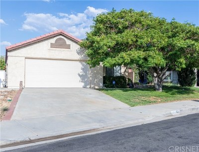 Palmdale Single Family Home For Sale: 37006 Justin Court
