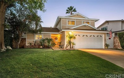 Chatsworth Single Family Home For Sale: 10443 Willowbrae Avenue