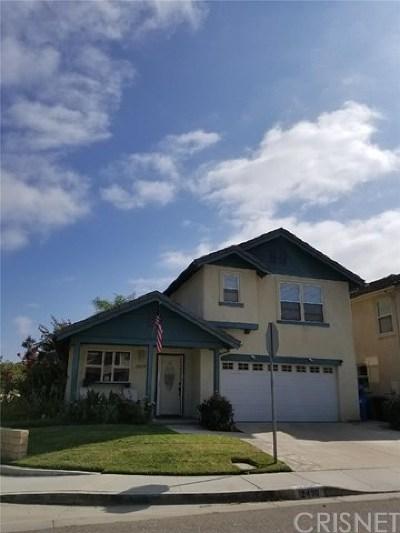 Moorpark Single Family Home For Sale: 12490 Ranier Street