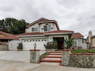Saugus Single Family Home For Sale: 28944 Seco Canyon Road