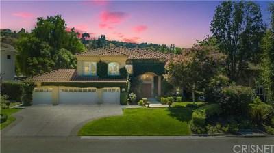 Westlake Village Single Family Home For Sale: 31828 Saddletree Drive