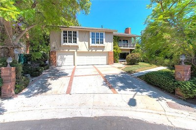 Porter Ranch Single Family Home Active Under Contract: 11934 Estrada Lane