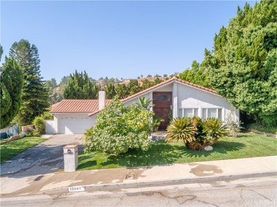 Porter Ranch Single Family Home For Sale: 12041 Beaufait Avenue