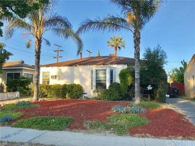 Burbank Single Family Home For Sale: 2034 N Clybourn Avenue