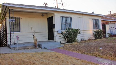 North Hollywood Single Family Home For Sale: 5909 Vineland Avenue